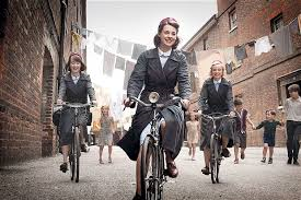 call the midwife cycling