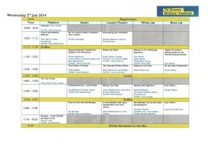 TV Drama Writers Festival 2014 schedule300dpi