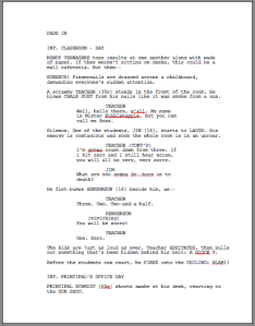 scriptangel s blog screenwriting for film television